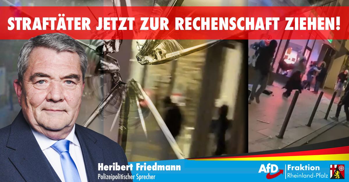 Migranten und Linksextreme randalieren in Stuttgart