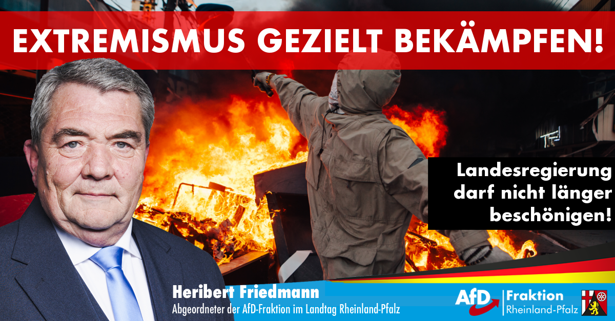 Heribert Friedmann zu den Krawallen in Frankfurt
