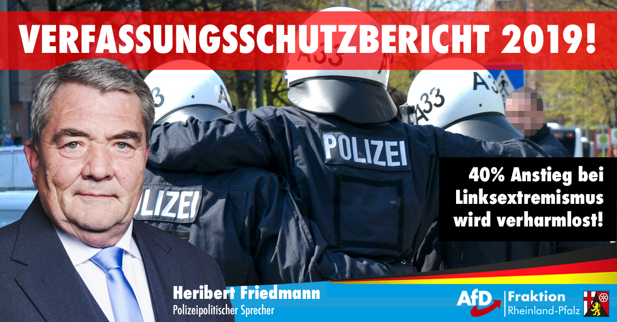 Heribert Friedmann zum Verfassungsschutzbericht 2019